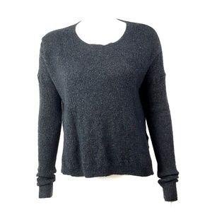 Madewell Gray Wool Sweater Medium